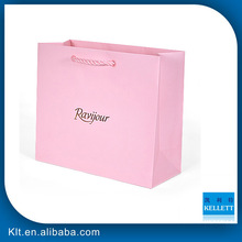 Customized cardboard paper bag with coloful printing & Art paper shopping bag