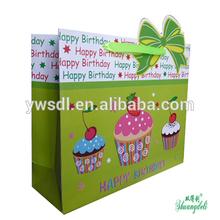 Newest Design Best Seller Happy Birthday Series Paper Gift Bag
