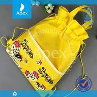 cheap fashion student non woven book bag