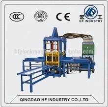 Hydraulic system QTF3-20 semi-automatic color paver block machine for sale