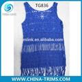 2015 del cordón de la blusa TG836