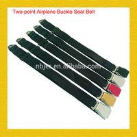 airplane/aircarft Aluminum Buckle Seat Belt BS:750kg