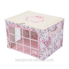 wholesale toy foldable fabric storage boxs