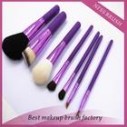 free samples ,top selling product Animal Hair Makeup Brush Set Purple