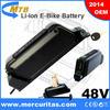 48 volt ebike battery with panasonic cells 11.6Ah