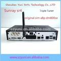 Sunray sr4 carte sim a8p pour dreambox décodeur hd linux sunray4 sr4 800se triple tuner dvb- s( s2)/c/t2 +wifi