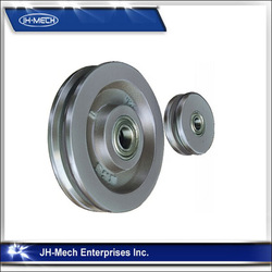 Material Handling Rs Alloy Wheels For Mixers