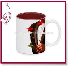 2014 wedding door gift blank sublimation mug ceramic
