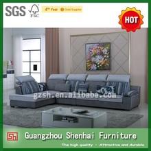 most popular living room furniture sofa comfortable corner sofa guangzhou supplier