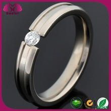 2015 Factory wholesale fashion jewelry 316l stainless steel wedding ring