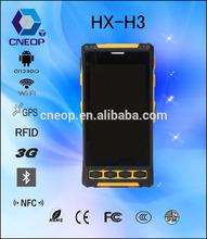 H3 fingerprint sensor pda /gsm mobile phone scanner