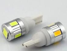 led car light 12v auto led bulbs T10 5630 6smd