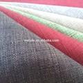 Sofá de la tela/patrón cuadrado/tapicería de tela de lino look