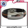 High end metal buckle survival paracord bracelet button