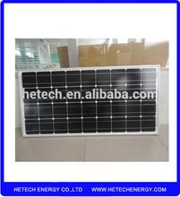 High efficiency monocrystalline silicon best price power 100w solar panel