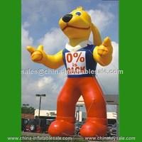 H7-0057:Guangzhou China latest popular sale dog large cartoon inflatable animals