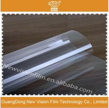 Transparent window glass film privacy protective security window film