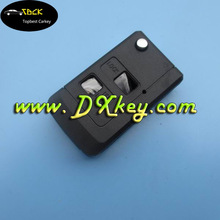 2 buttons flip remote key case for toyota corolla smart key toyota key cover