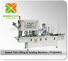 FC004002 Boxed Tofu Filling and Sealing Machine