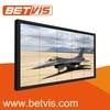 Highly stable waterproof advertising lcd enclosure full colour video wall