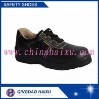 Cheap safety shoes/genuine leather safety footwear