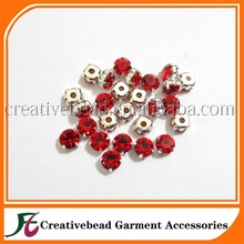 China wholesale lead free machine cut with clow crystal rhinestone for sewing