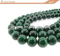 Wholesaler malachite gemstone bulk natural stones for muslim prayer beads 99