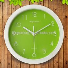 Rustic Cheap Small Round Plastic Wall Clock