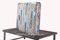 Transparent light blue upscale mattress PVC packaging films