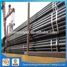 erw ms welded steel pipe dimensions