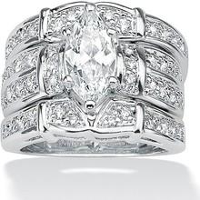 Nouveau design CZ bijoux haute qaulity gros pigeon anneau