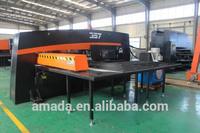 China AMADA AMD-357 CNC Turret Punching Machine / CNC Punch Press