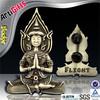 Promotion cheap religious chrome emblems