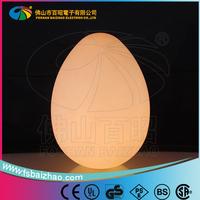 led egg for Garden Decorative /Magic Colorful Changing Egg LED Light/Popular illuminated led light for decoration