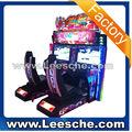 Lsrm- 002 dupla jogadores carro de corrida máquina de jogo de corrida de carros de dois jogadores arcade máquina de jogo de corrida jogo simulador de carro rb1222