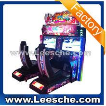 Lsrm- 002 doppio giocatori auto da corsa macchina del gioco arcade giocatore due auto da corsa macchina gioco di corse gioco simulatore di auto rb1222