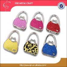 Hot selling fashionable metal bag holder for promotion gift