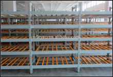 Heavy Duty Antistatic Gravity flow rack for warehouse storage