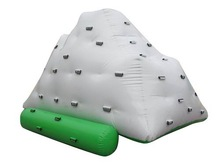 HOT Water Climbing Games 0.9mm PVC Inflatable Iceberg for Sale