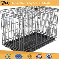 folding carrier dog cage