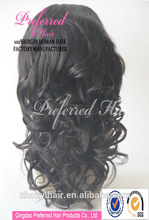 Hot new products original virgin china wig supplier