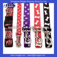 casual factory custom cheap pet collar leash