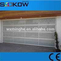 plexiglass garage door/garage door safety aluminum glass garage door/insulated glass overhead door
