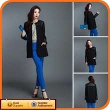 Genuine Women Long Full Length Leather Coat