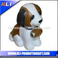 hot vendre chien en forme de balle antistress pu balle en mousse pu