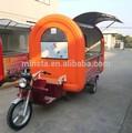 Unique 2015 estruturado móvel trailer alimentos/bebida carrinho de venda/caminhão lanche