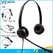 headsets usb telephone headsets usb headphones 150-6800Hz wideband audio processing