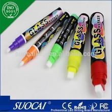 Non-toxic marker pen used non-porous surfaces eraser pen