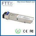 Ethernet rapide 10G SFP DDM 60KM BIDI 10GSFP + fibre optique convertisseur hf radio émetteur-récepteur