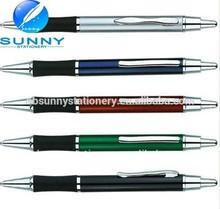 best selling promotional metal logo ball pen ,metal pen promotion